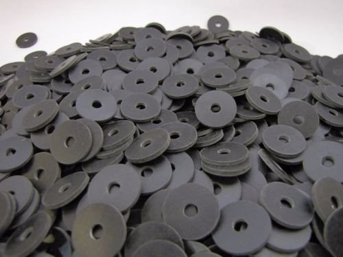 (100) Rubber Washers | 3/4 x 3/16 x 1/16 Inch | Neoprene Washers | 3/16 ID | .75 OD (Neoprene Washers compare prices)