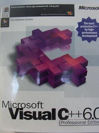Microsoft Visual C++ 6.0 Professional Edition - c1998