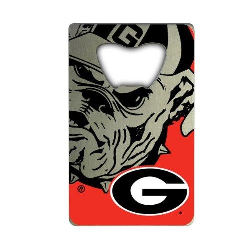 NCAA Georgia Bulldogs Credit Card Style Bottle Opener