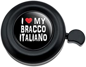 I Love My Bracco Italiano Stylish Bicycle Handlebar Bike Bell