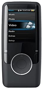 Coby MP620-4GBLK 4 GB Video MP3 Player with FM Radio (Black)
