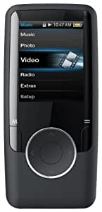 Coby MP620-4GBLK 4 GB Video MP3 Player with FM Radio (Black) (Discontinued by Manufacturer)
