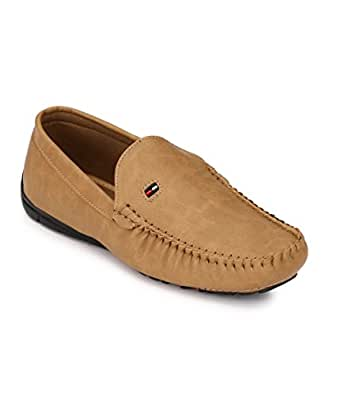 Shoe Smith Woodland Men Tan Loafers Shoe Buy Online At Low Prices In India - Amazon.in