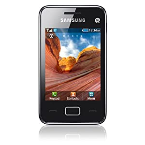 Samsung Star 3 S5220 Smartphone EDGE Bluetooth Wifi Noir