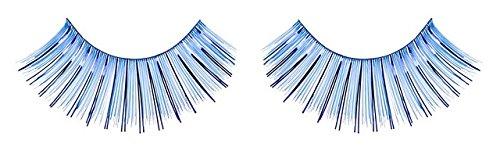 Zinkcolor Blue Foil False Eyelashes C007 Dance Halloween Costume (Blue False Eyelashes compare prices)