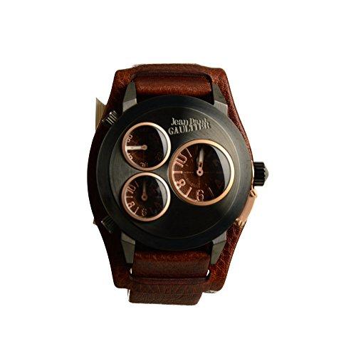 Jean Paul Gaultier Reloj de hombre 8500303piel Chrono UVP: 299, de? NUEVO 7860