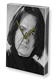 ALAN RICKMAN - Canvas Clock (A4 - Signed by the Artist) #js001
