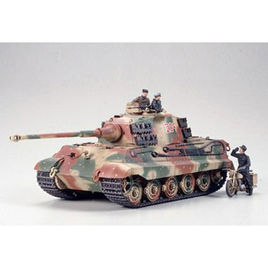 German King Tiger - Ardennes Front - 1:35 Scale Military - Tamiya