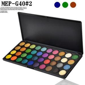 アイシャドウパレット メイクパレット 40色 プロ用 アイシャドウ MEPー040G
