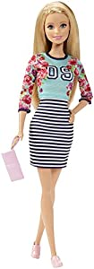 Barbie Fashionista Doll Stripe Skirt