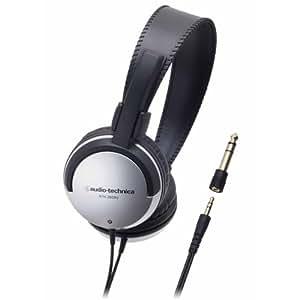 audio-technica 密閉型オンイヤーヘッドホン テレビ用 シルバー ATH-200AV