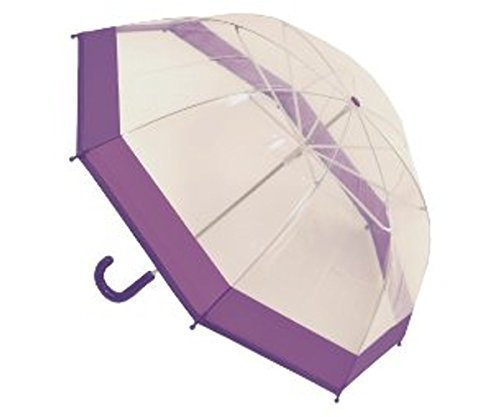 kinder-madchen-transparenter-regenschirm-mit-rosa-oder-violett-trimm-711cm-durchmesser-dunkelrosa-tr
