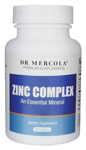 Mercola - Zinc Complex, 30 Mg, 30 Capsules