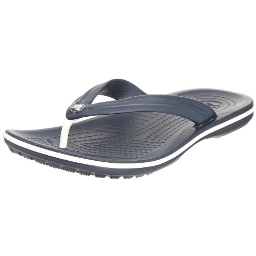 Crocs Crocband Flip U, Sandali, Unisex - adulto, Navy, 43-44