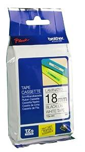 Brother Schriftbandkassette TZE241 18mm wh/black