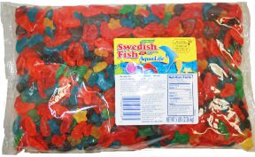 Candy aqua life gummy swedish fish 5 lb for Swedish fish amazon