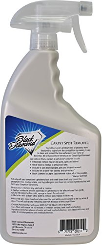 Carpet Upholstery Cleaner This Fast Acting Deep Cleaning Spot Stain Remover Spray Also