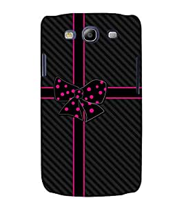Beautiful Bow 3D Hard Polycarbonate Designer Back Case Cover for Samsung Galaxy S3 Neo :: Samsung Galaxy S3 Neo i9300i