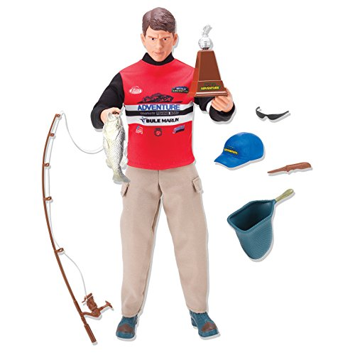 Wild Adventure Fisherman Action Figure