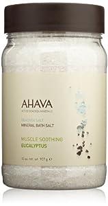 AHAVA - Deadsea Salt Mineral Bath Salt Muscle Soothing Eucalyptus