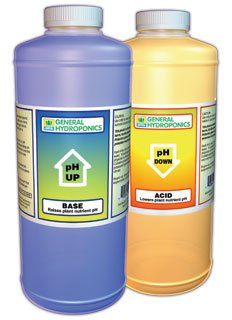 General Hydroponics Ph Up & Ph Down - 8 Oz Each
