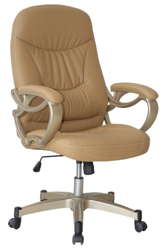 Tan Comfy Executive Office Chair
