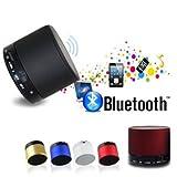 #8: Gadgetbucket Mini Bluetooth Wireless Speaker (S10) Compatible For Iphone 6,6S,6Plus/5S 5C 5/Ipad Air2,Mini2,Mini3/Ipad 4Th Gen/Ipod Touch 5Th Gen/Ipod Nano 7Th Gen/All Samsung Devices Galaxy S4 S5 S6 Note Edge Note+ All Smart Phones One + One Plus 2,Oppo(Multi Color)