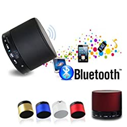 Gadgetbucket Mini Bluetooth Wireless Speaker (S10) - Multicolor for for iPhone 6, 6S 6Plus 5s 5c 5, iPad Air Air2 mini mini2 mini3, iPad 4th gen, iPod touch 5th gen, and iPod nano 7th gen For All Samsung Devices Galaxy S4 S5 S6 Note Edge Note+ All Smart Phones One + One Plus 2 oppo