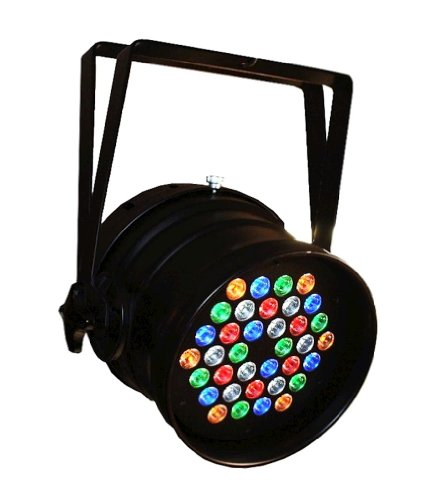 Blizzard Lighting Rocklite Rgbaw | 36 X 3W Rgbaw Par 64 Can Fixture Sound Activated