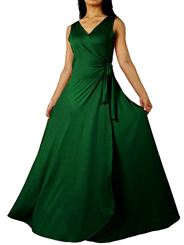 [Prom Dress Formal Evening Ball Gown Long Bridesmaid Maxi Wrap Graduation Elegant (2X-Long 57 inch, Emerald] (Maternity Fancy Dress Uk)