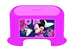Minnie 93068 Minnie Mouse Blossoms and Bows Step Stool Toy