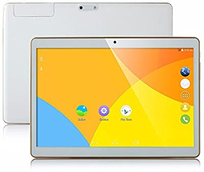 Tablet 10 inch Octa Core White PC 2560X1600 IPS 4GB RAM 64GB ROM 8.0MP WIFI 3G 4G with sim card tablet telefono Dual Camera Tablets Android5.1 electronics 7 8 9 10.1