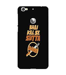 LE ECO LE 1S SUTTA BAND Back Cover by PRINTSWAG