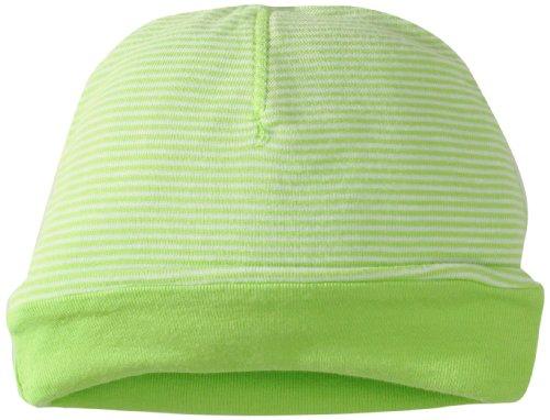 Splendid Littles Baby-Girls Newborn Reversible Mini Stripe Solid, Lime, One Size front-1014613