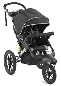 Jeep Adventure Jogging Stroller, Black