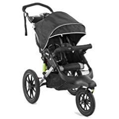 Jeep Adventure Jogging Stroller, Black by Jeep