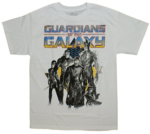 Guardians Of The Galaxy Group Portrait T-Shirt