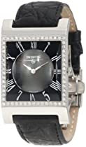 Swisstek SK57743L Limited Edition Swiss Diamond Watch With Mother-Of-Pearl Dial, Genuine Crocodile Strap And Sapphire Crystal