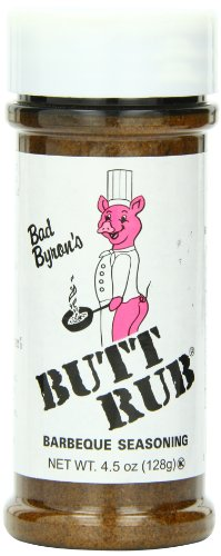 Bad Byron's Butt Rub Barbecue Seasoning, 4.5 Ounce (Calorie Free Bbq Sauce compare prices)