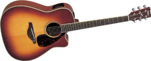 Yamaha fgx720sca acoustic electric guitar fg series for Yamaha fgx720sca price
