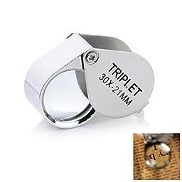 LT 30x21mm Jewelers Magnifier