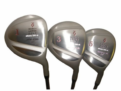 NANCY LOPEZ ALBANY 250 GOLF WOOD SET