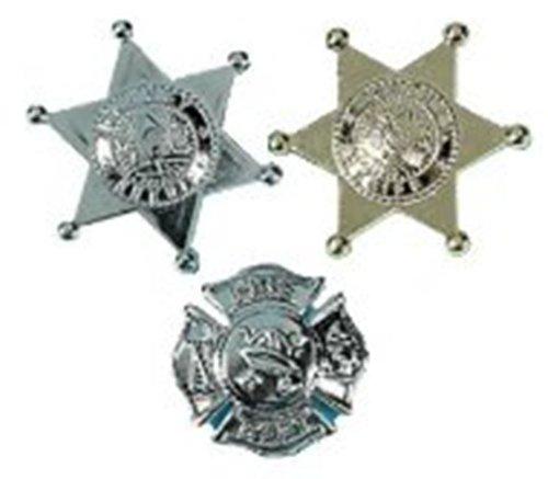 Deputy And Firefighter Badges (1 Dozen) - Bulk front-1035651