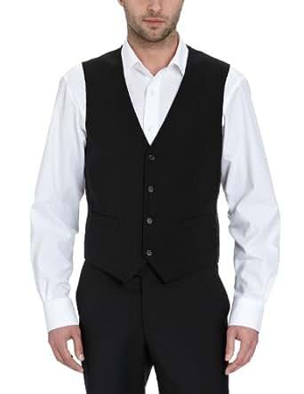 Esprit Collection - Costume Homme - Noir - Noir (001) - FR : 50 (Taille Fabricant: M) (Brand size: M)