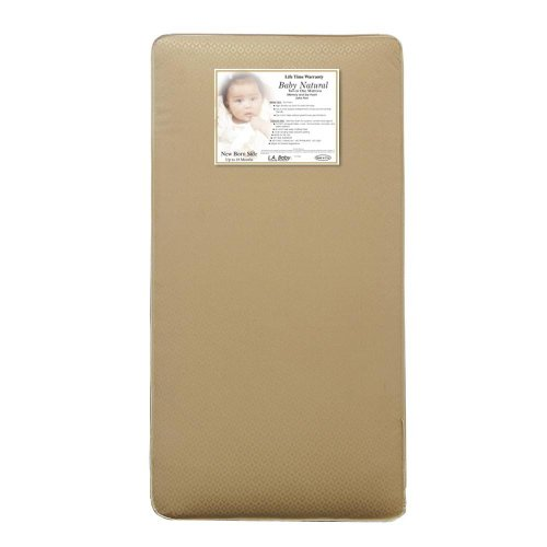 L.A. Baby 2 In 1 Memory Soy Foam Core Extra Firm With Jacquard Cover front-339117