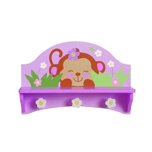 Babies R Us By Design Girl Monkey Wall Shelf