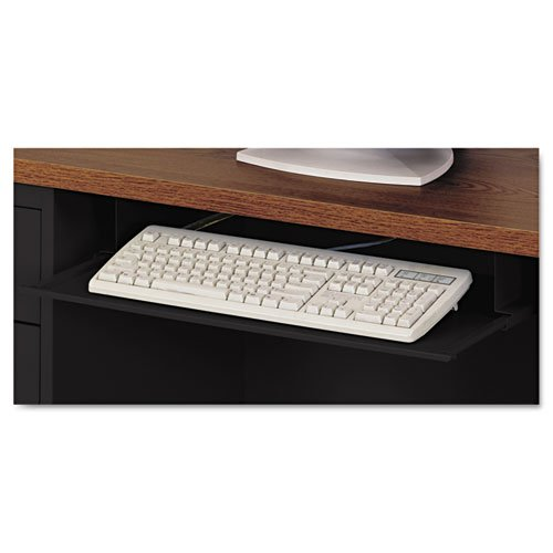 Steel Keyboard Drawer, 23 x 14, Black - Sold As 1 Each