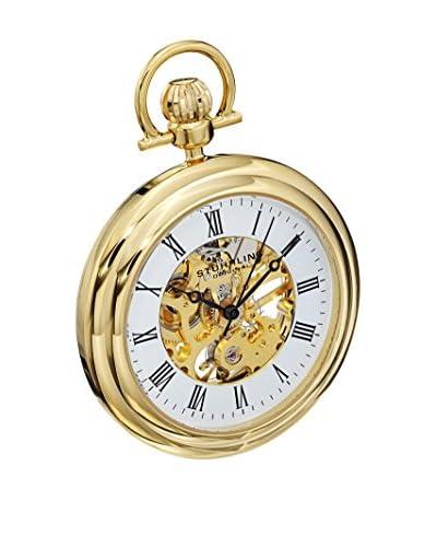 Stuhrling Original Reloj con movimiento mecánico suizo Vintage 6053.33333 Dorado 47 mm