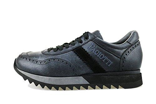 CESARE PACIOTTI 4US 41 EU sneakers uomo grigio pelle camoscio AG124