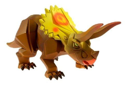 Buy Low Price Mattel Xtractaurs Pindown The Triceratop Figure (B0029LI0WS)